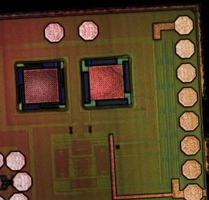 CMOS-MEMS accelerometer